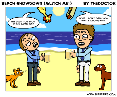 Beach Showdown (Glitch me!)