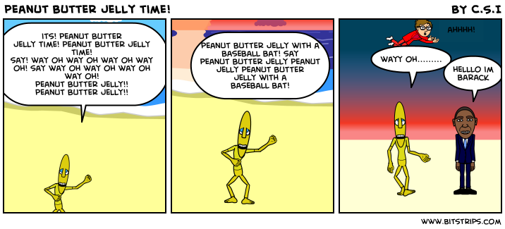 peanut butter jelly time!