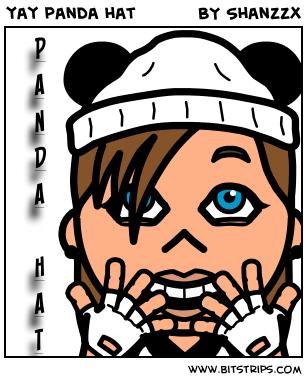 yay panda hat