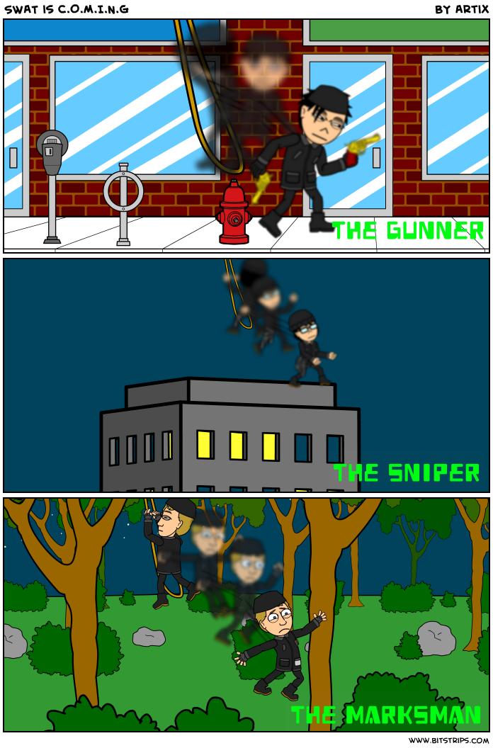 SWAT is C.O.M.I.N.G
