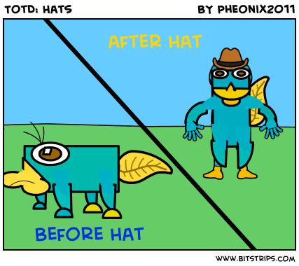TotD: Hats