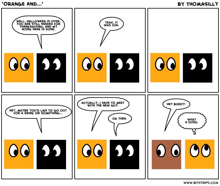'Orange And...'