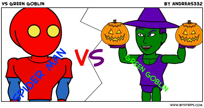 vs green goblin