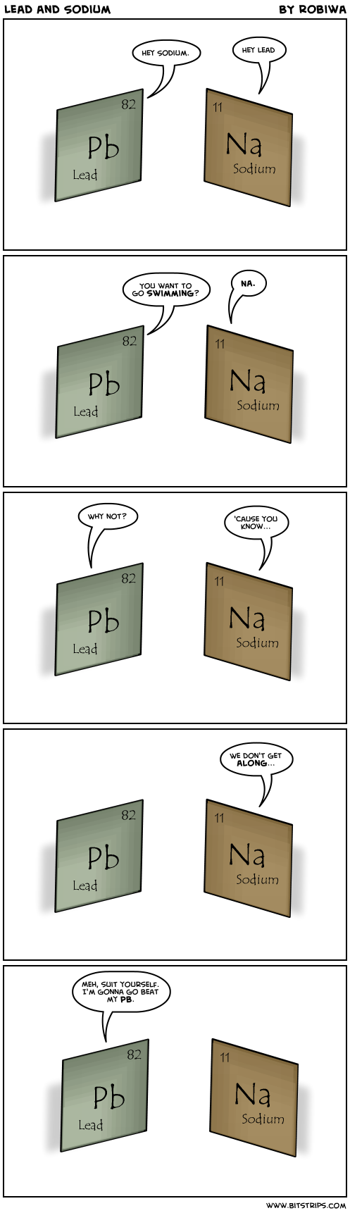 Lead and Sodium