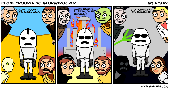 Clone Trooper to Stormtrooper