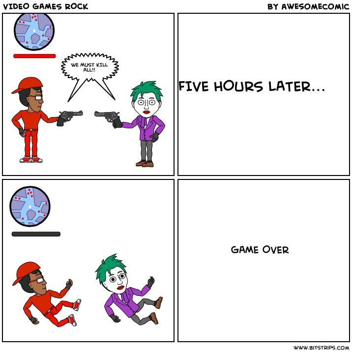 VIDEO GAMES ROCK