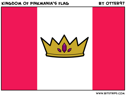 Kingdom of Pinkmania's flag