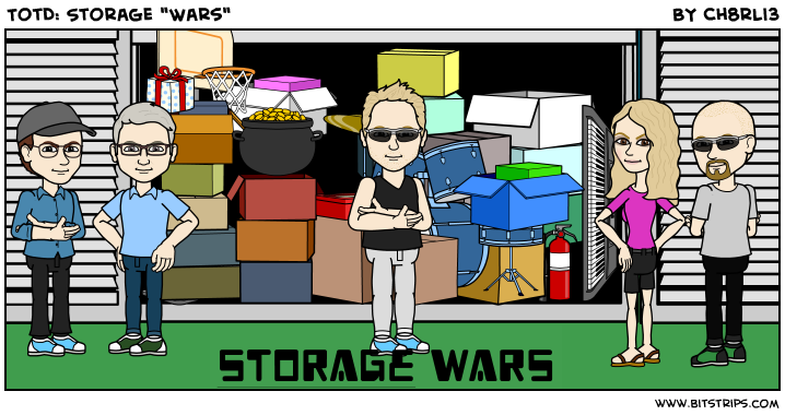 "TotD: Storage ""Wars"""