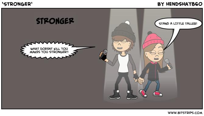 'Stronger'
