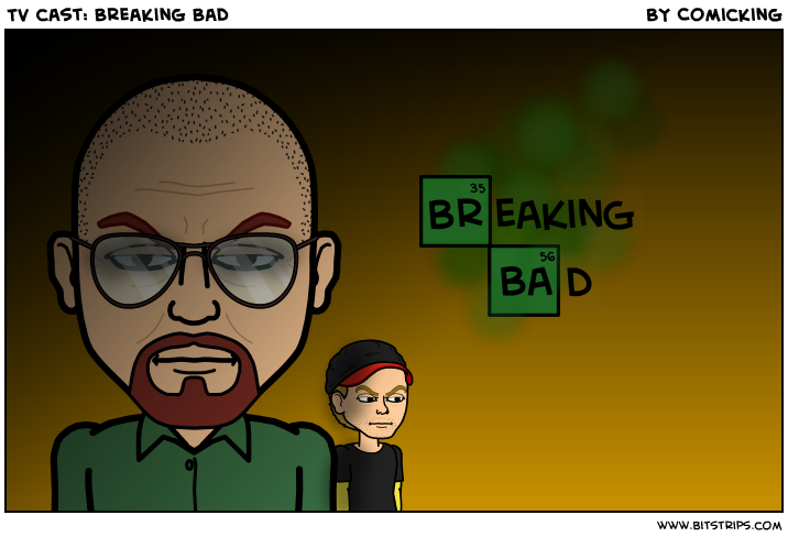 TV cast: Breaking Bad