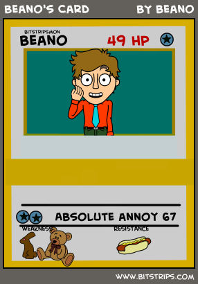 Beano's Card