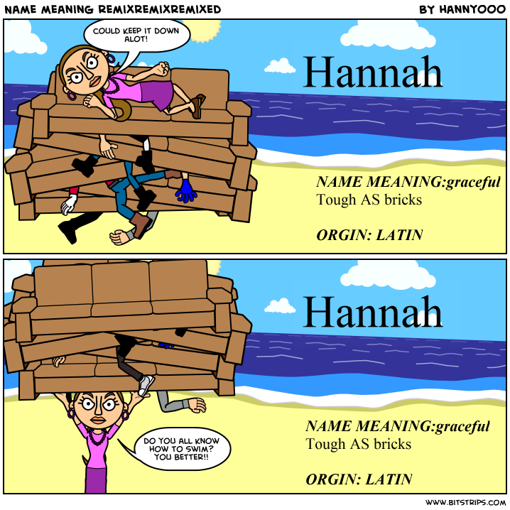 Hannah Name Meaning:graceful