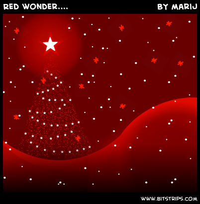 Red wonder....