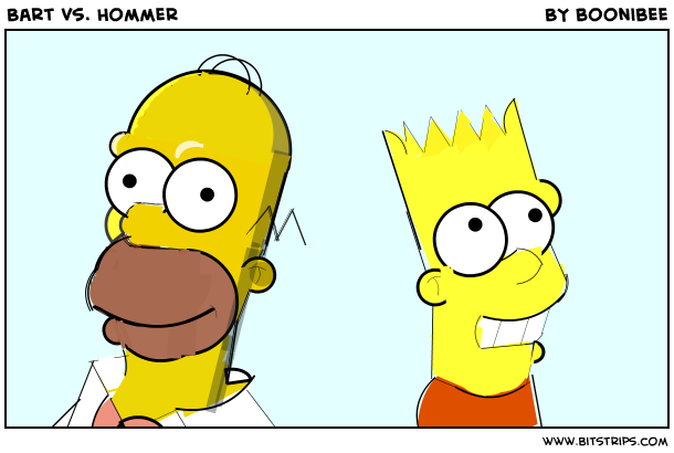 Bart vs. Hommer