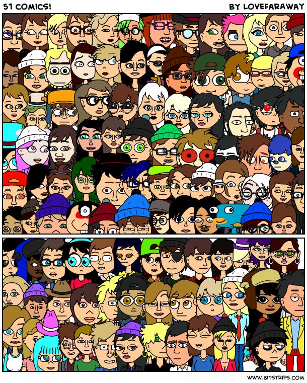 51 comics!
