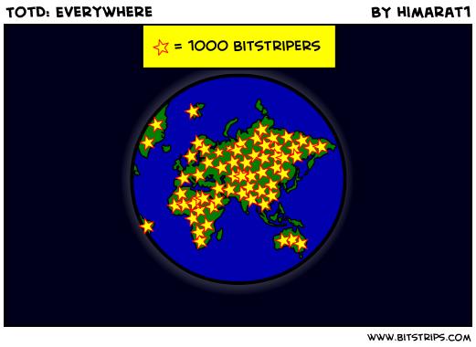 TotD: Everywhere