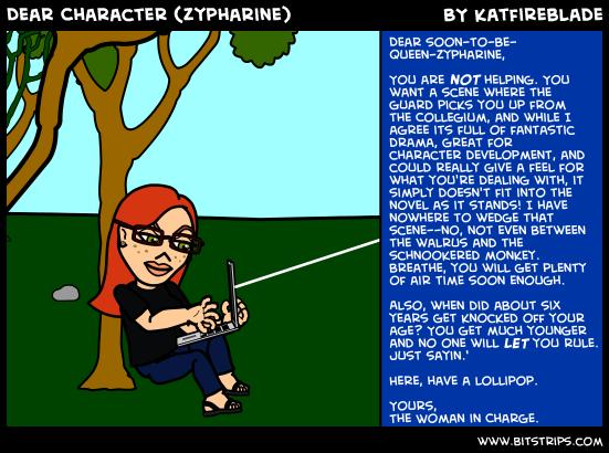 Dear Character (Zypharine)