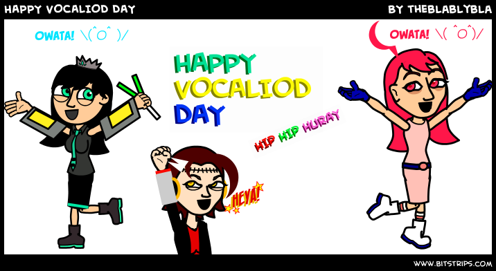 HAPPY VOCALIOD DAY