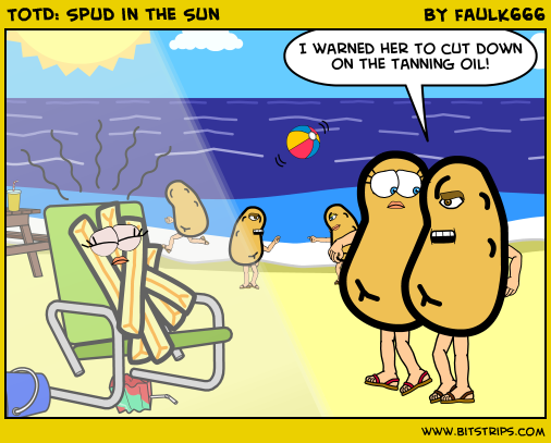 TotD: Spud in the Sun