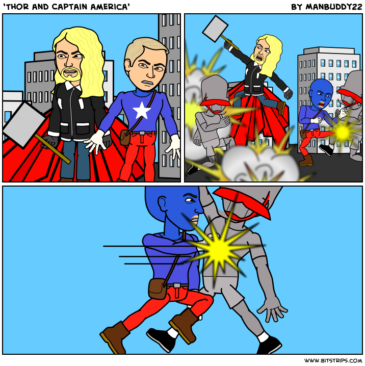 'Thor and Captain america'
