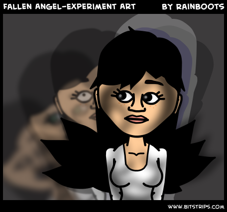 Fallen Angel-Experiment Art