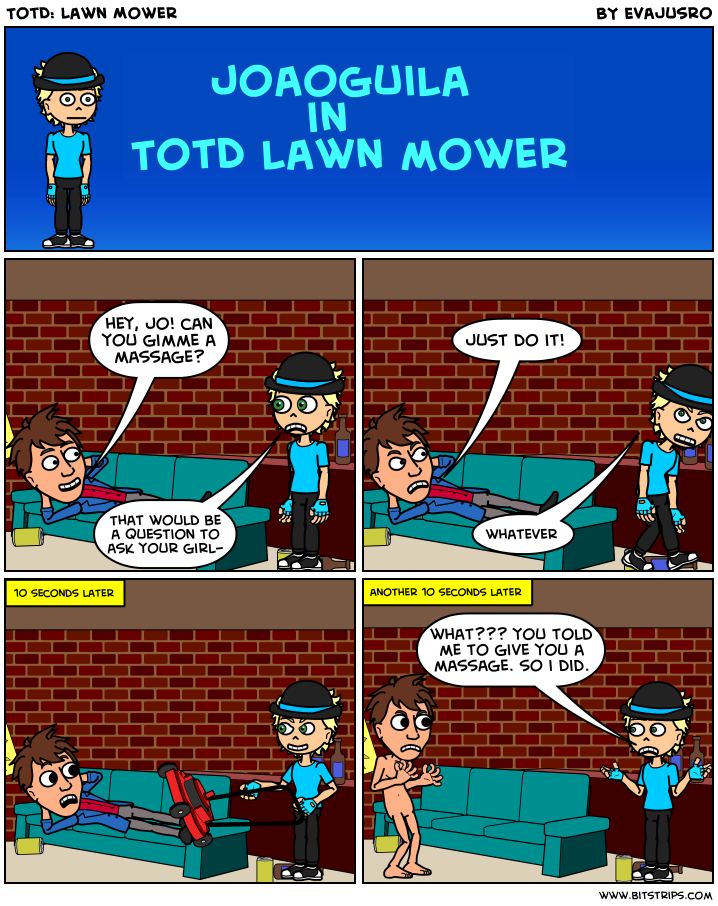 TotD: Lawn Mower