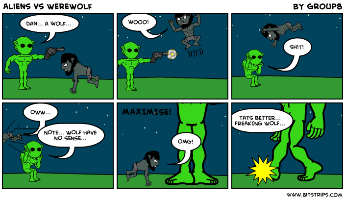 Aliens vs WereWolf