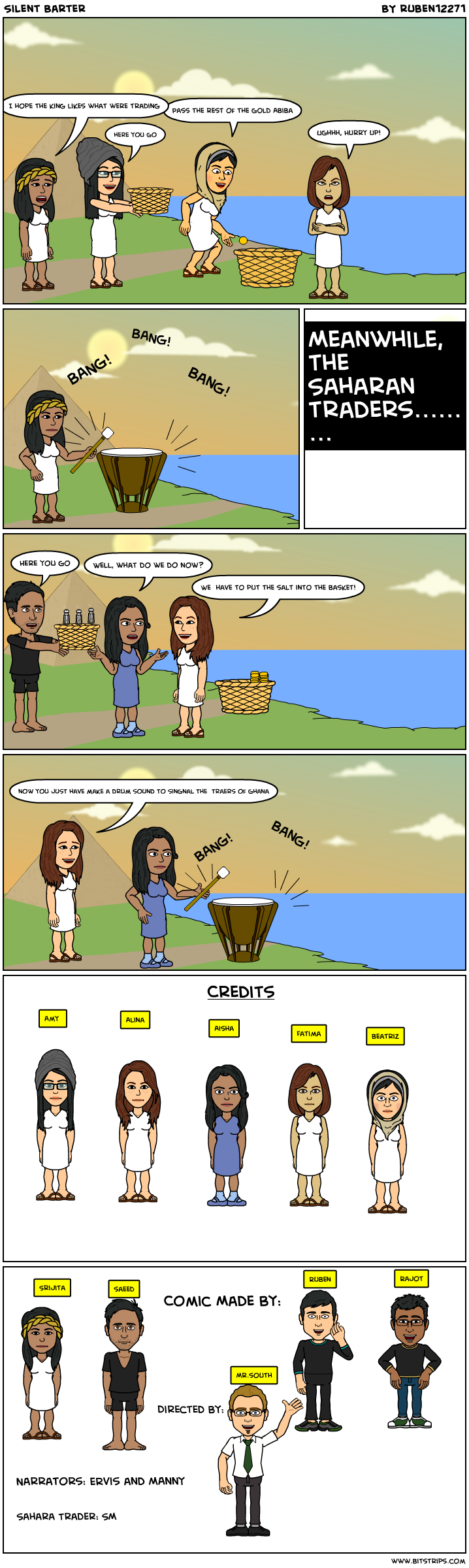 silent barter bitstrips. Black Bedroom Furniture Sets. Home Design Ideas