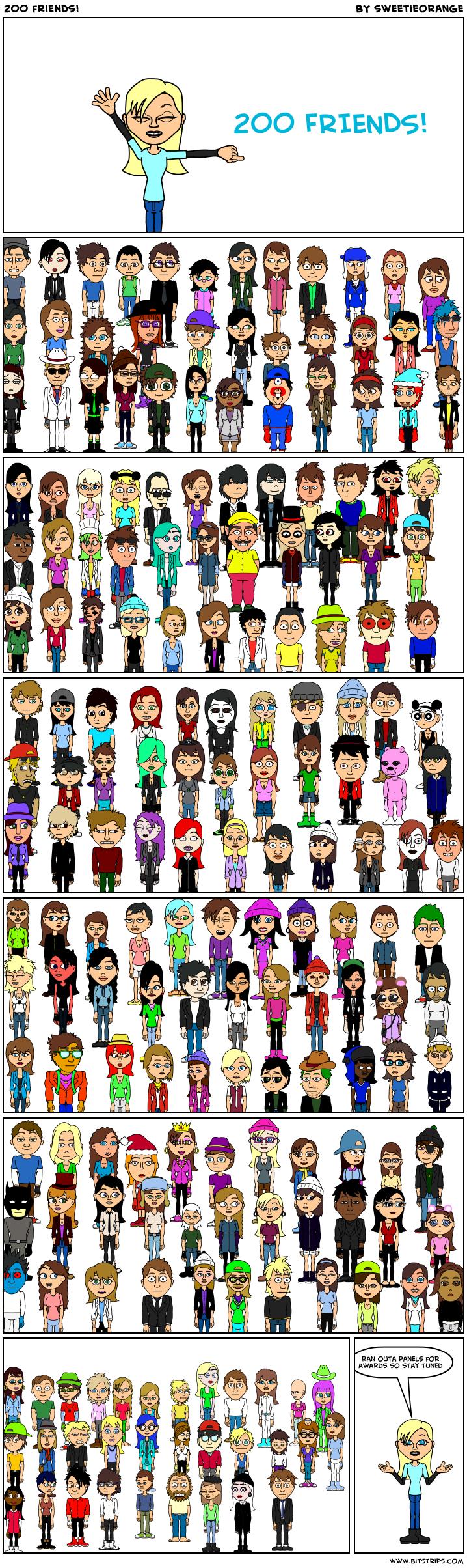 200 friends!