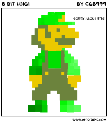 8 Bit Luigi