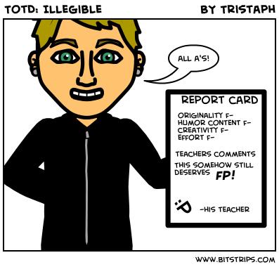 TotD: Illegible