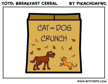TotD: Breakfast Cereal
