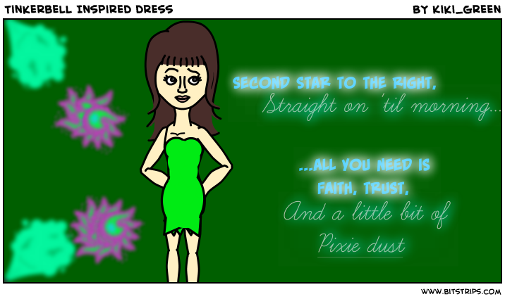 Tinkerbell Inspired dress
