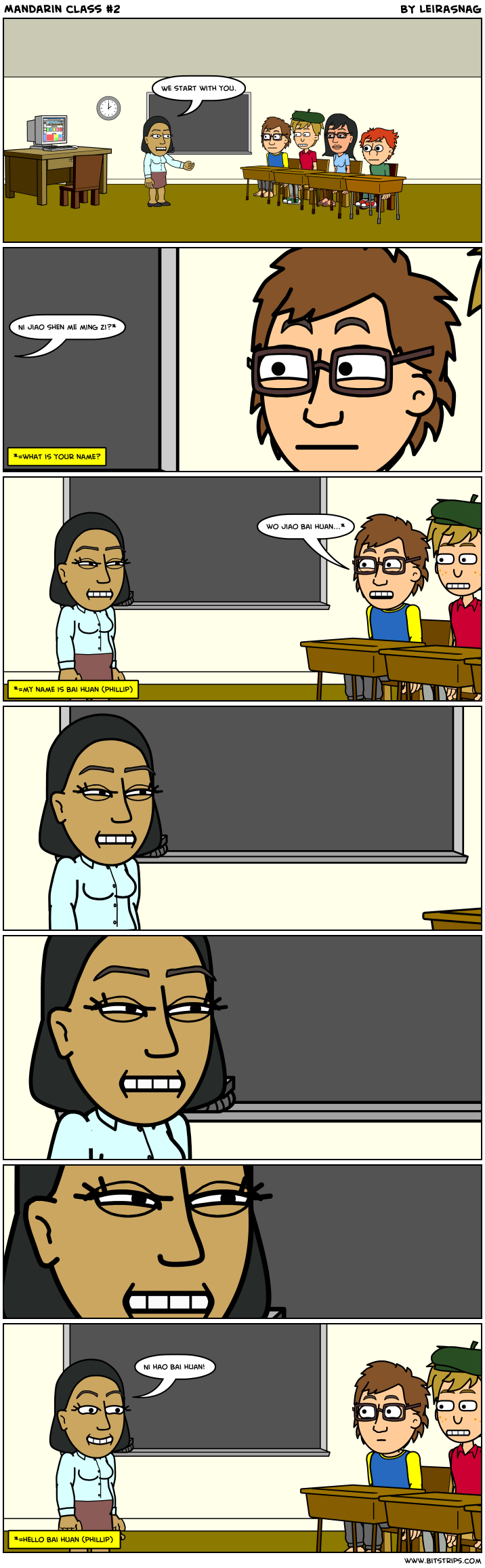 Mandarin class #2