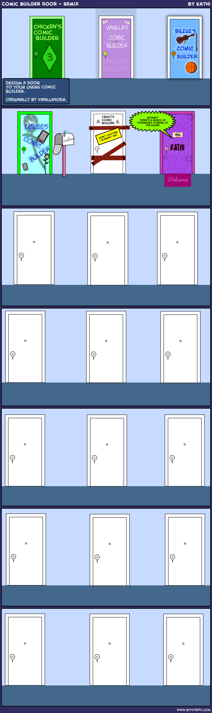 Comic Builder Door - Remix