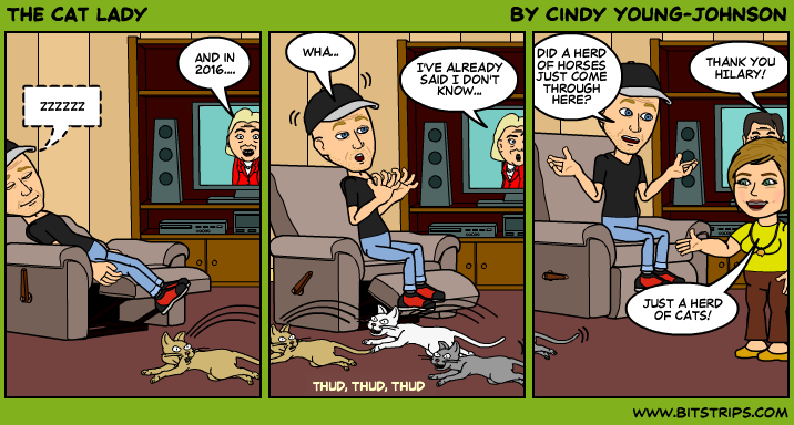 The Cat Lady Bitstrips