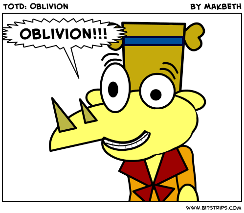 TotD: Oblivion