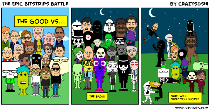 The Epic Bitstrips Battle