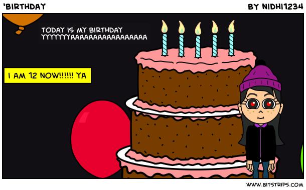 'birthday