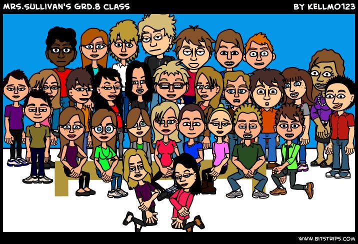 Mrs.Sullivan's Grd.8 class