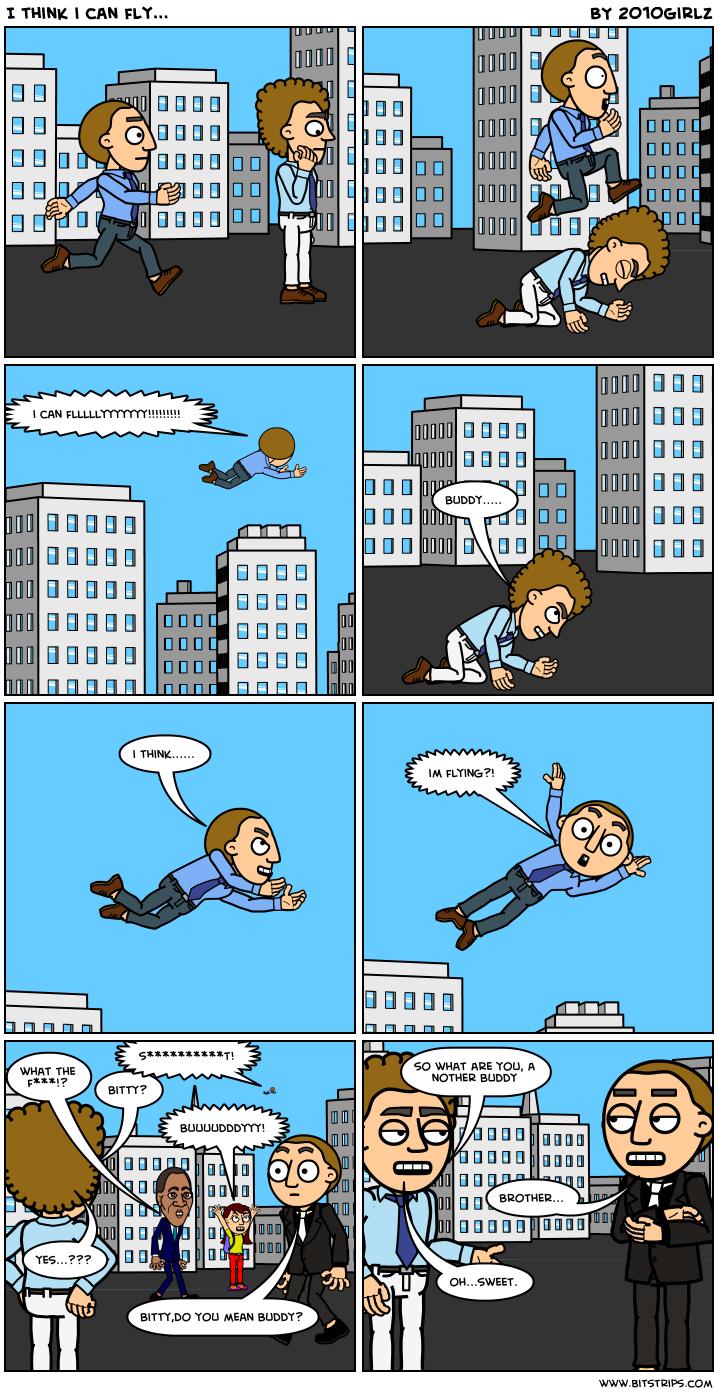 I think i can fly...