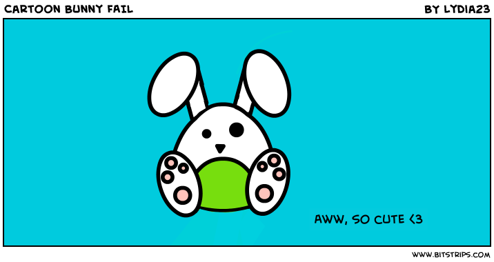 Cartoon Bunny FAIL