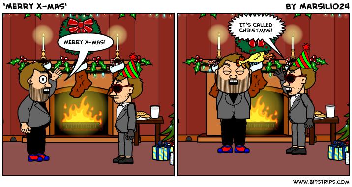 'Merry X-mas'