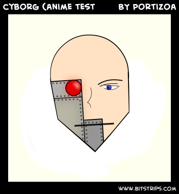 cyborg (anime test