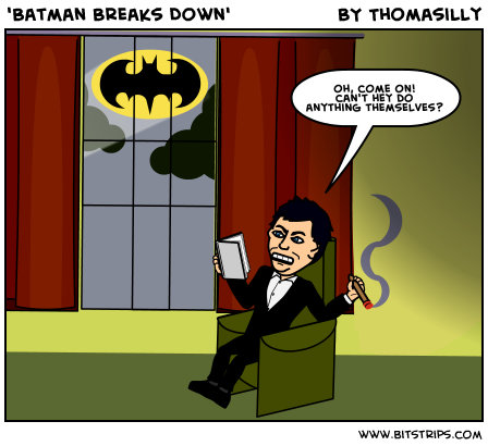 'Batman Breaks Down'