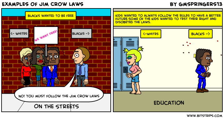 jim crow laws list pdf
