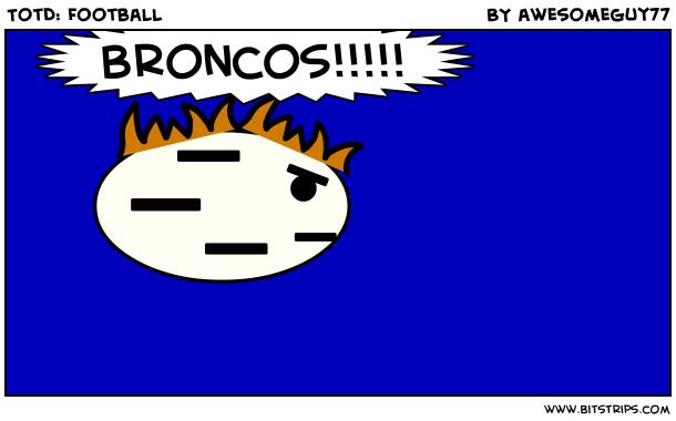 TotD: Football