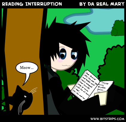 Reading Interruption