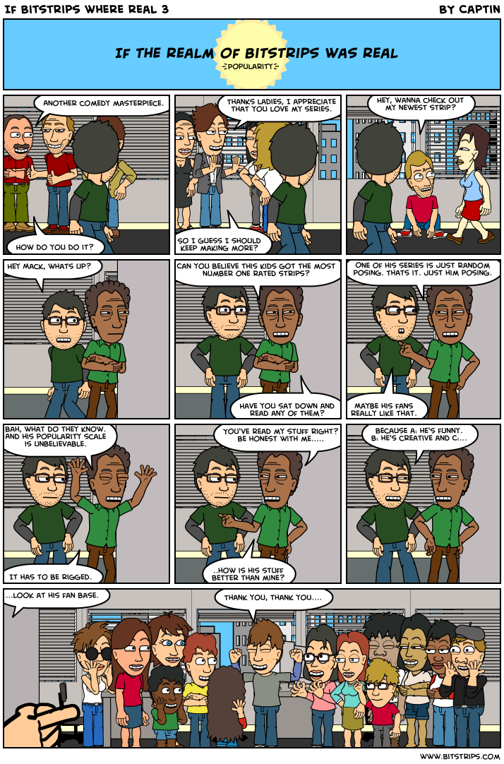 If Bitstrips where real 3