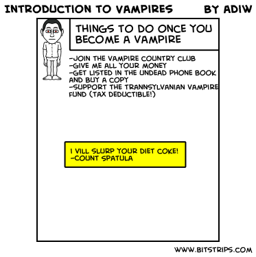 Introduction to Vampires